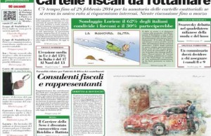 italia oggi rassegna stampa sanatoria cartelle fiscali