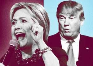 elezioni usa 2016 Trump-Clinton
