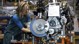 produzione industriale italiana