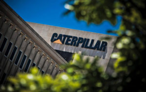 caterpillar 2017 sales revenues