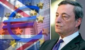 draghi eurozona QE