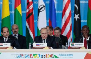Summit Russia Africa Sochi 2019