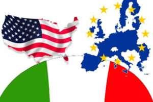 prospettive economiche Italia Europa USA